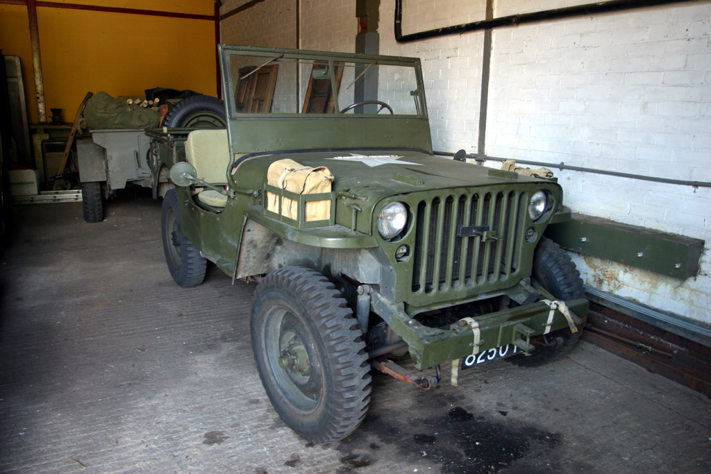 ww2 british army car