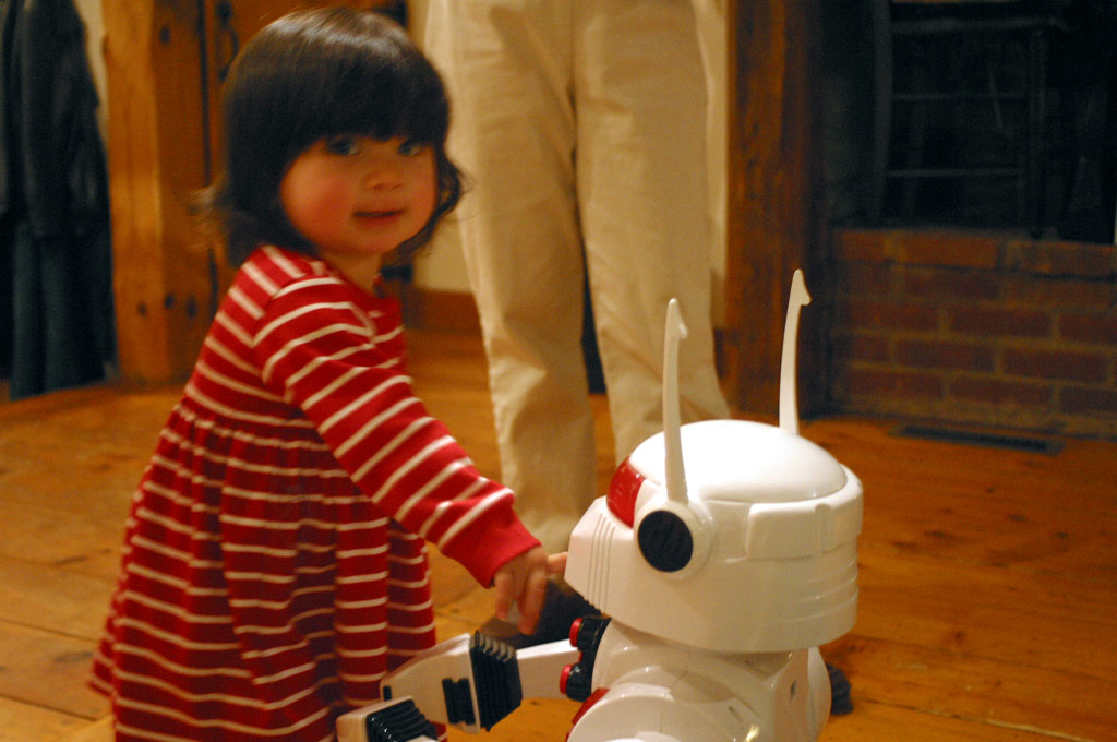 Jeanie and Robot