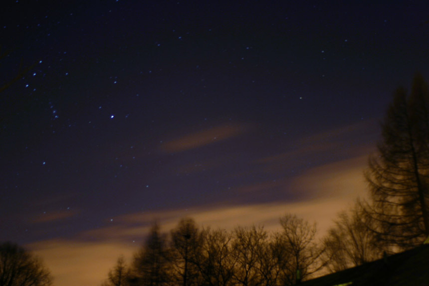 Stars on Christmas Eve